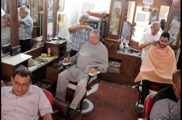 Barbería Ralf, en el centro de Cartagena