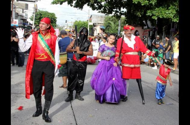 Desfile cabildo de Getsemaní