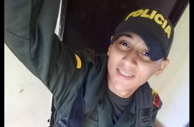 Carlos Marrugo, auxiliar de la Policía abatido por uniformados en Arjona que lo señalaban de robar una moto.