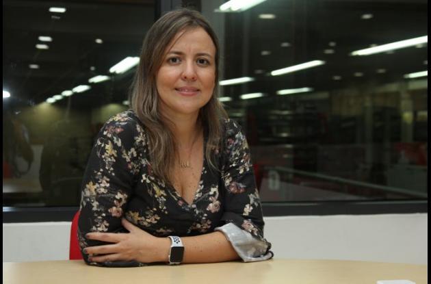 Diana Guzmán, jefe del Centro de Arbitraje y Conciliación de la Cámara de Comercio Cartagena.