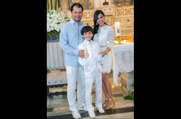 Elkin Osorio, Ricardo Osorio Cabrera y Jaidith Cabrera.