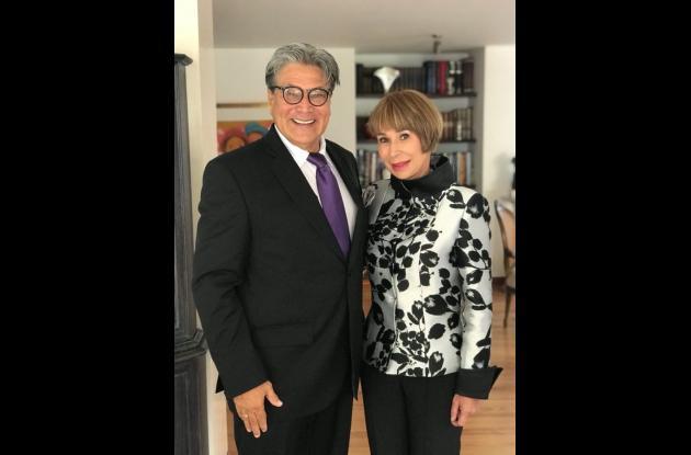 Gabriel Rodríguez y Alicia Arango Olmos.