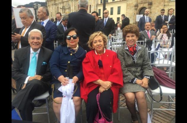 Jorge Dávila-Pestaña, Linda Porto, María Paulina Espinosa y Prince Martínez.