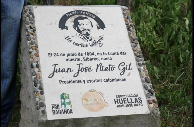Placa Juan José Nieto