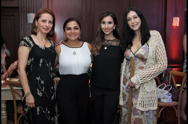 Luisa Daza, Satori Maya, Paula Velandia y Aviva Samuels.