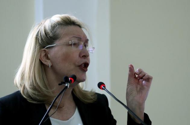 Exfiscal general de Venezuela Luisa Ortega.