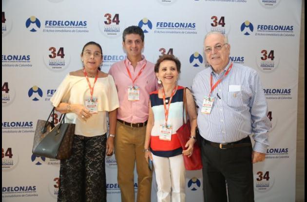 Magali Imbeth, Michel Chalita, Otty de Salazar y Alberto García.