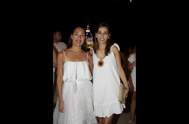 Maite Canela y Edna Montañez.