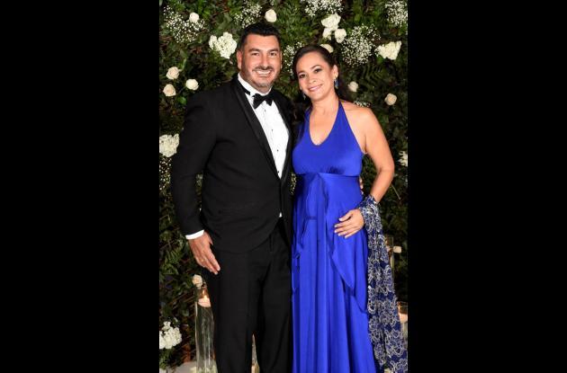 Marco Succar y Eliana Montes.