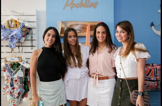 Mariana Tinoco, maría Alejandra Bustillo, Isabela Berrío Villareal y María Paola Tinoco.