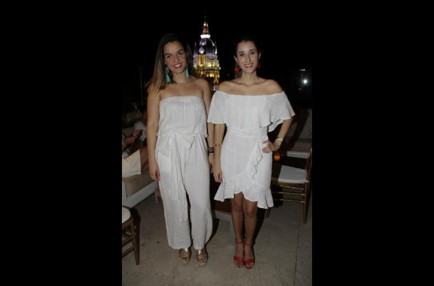 Michelle Ramos y Juliana Alvarado.