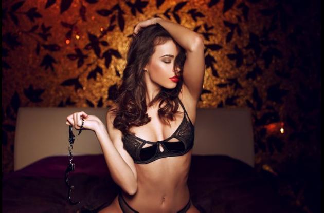 Mujer sensual.