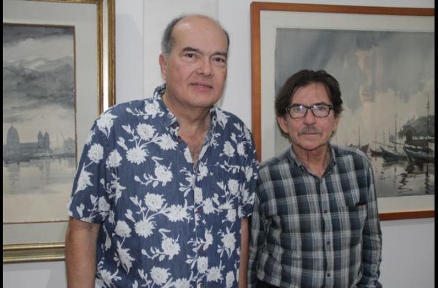 Rafael Otero y Arnulfo Luna.