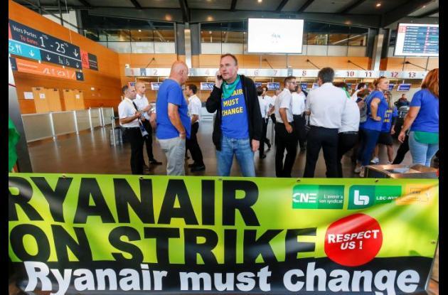 Huelga de pilotos de Ryanair