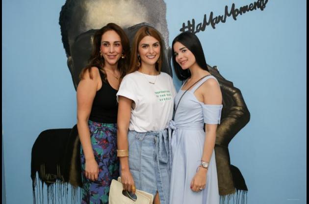 Paola Vélez, Siad Karime Char Tinoco, Mariam Char Tinoco.