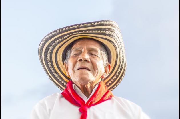 'Maestro Toño García - Gaiteros de San Jacinto' (2014), Museo Comunitario San Jacinto, Bolívar.