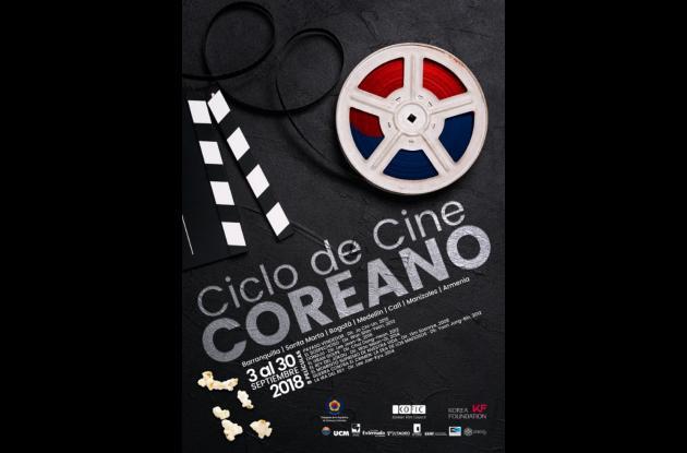 Afiche ciclo de cine coreano 2018