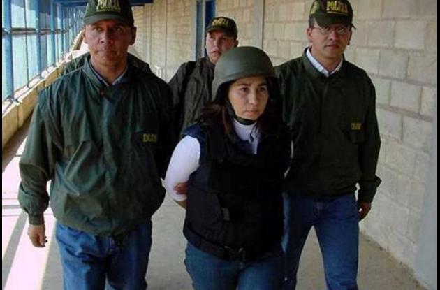 Exguerrillera de las Farc Anayibe Rojas Valderrama, más conocida como 'Sonia'.