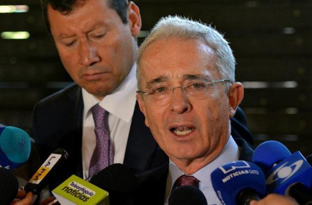 expresidente colombiano Álvaro Uribe