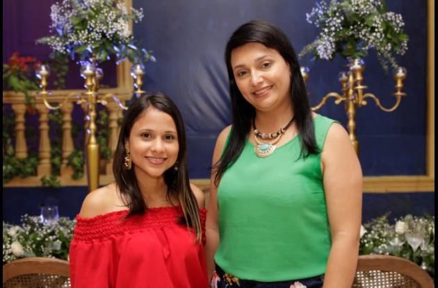 Ángela Quintero y Magyolli Peña.