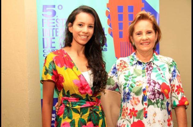 Angélica Carrasquilla e Isabel Carrasquilla.