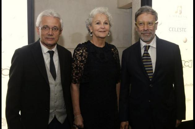 Antonio Miscenà, Julia Salvi y Pedro Ruiz.