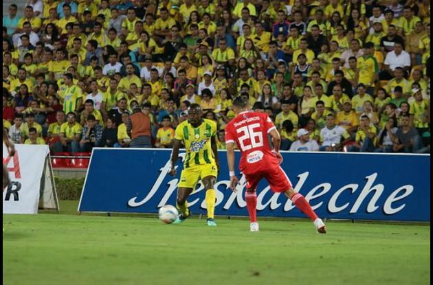 Atlético Bucaramanga y América de Cali se enfrentaron en la fecha 9 de la Liga Águila II de 2018.