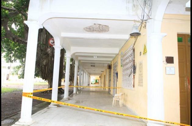 El incidente ocurrió en el bloque 1, de los que será reparado próximamente.