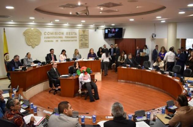 Comisión sexta de la Cámara
