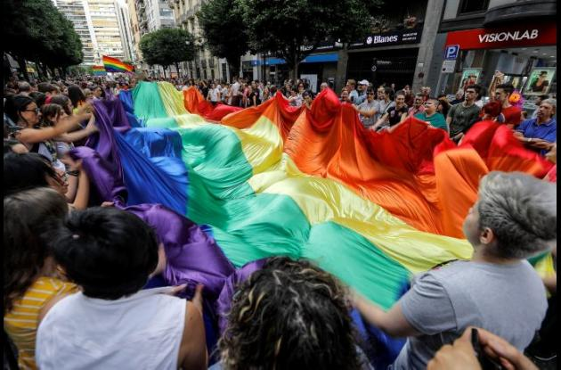 comunidad LGTBI en las calles
