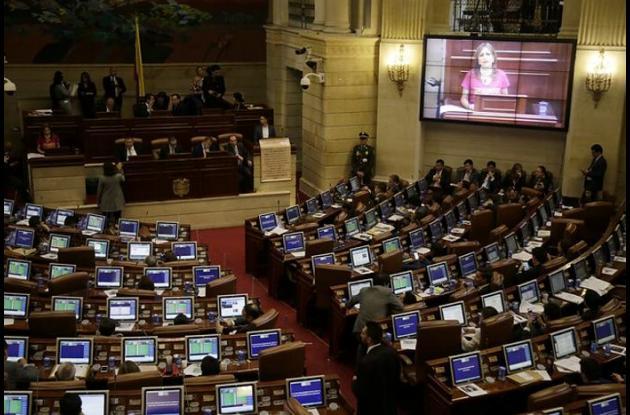 Sede del Congreso de la República.