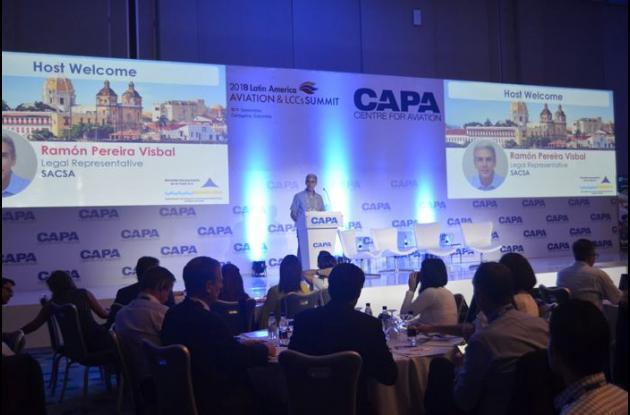 Cumbre de aviación en Cartagena