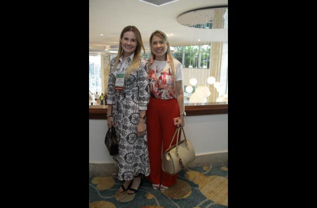 Daniela Soto y Diana Bedoya.