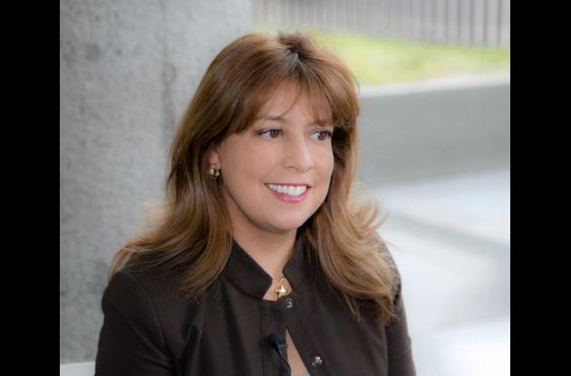 Adriana Guzmán, presidenta de Colpensiones.
