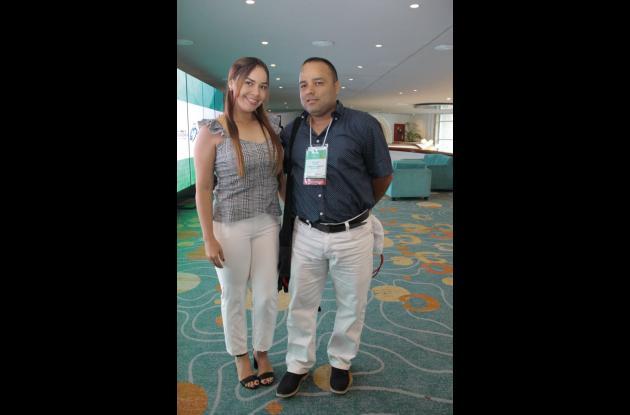 Laura Barrientos y Walter Calvo.
