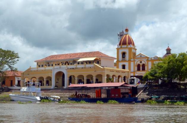 El mercado viejo de Mompox.