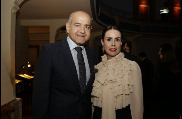 Munir Falah y Patricia de Falah.
