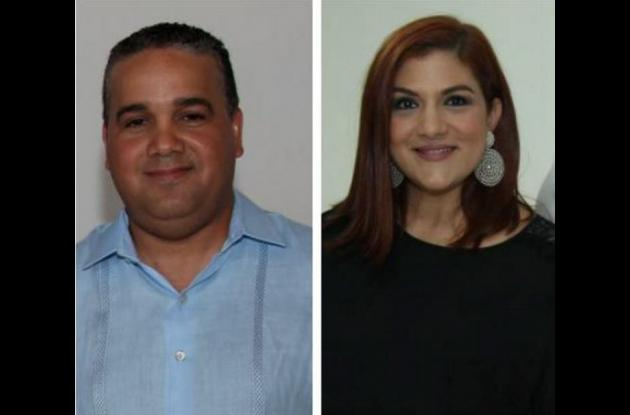 Pedrito Pereira y Antonella Farah.