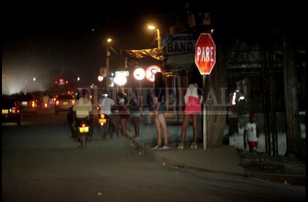 Prostitutas en La Cordialidad