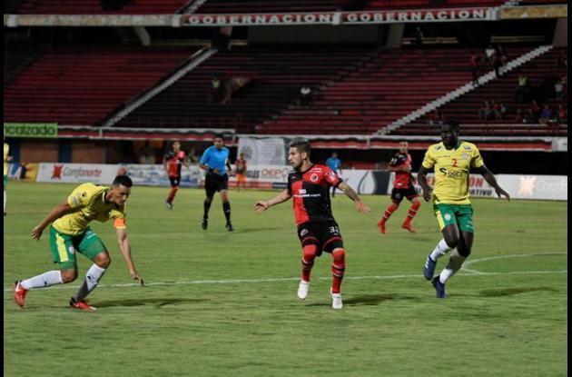 Real Cartagena vs Cúcuta Deportivo.