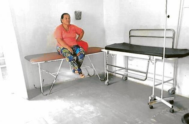 Sala de urgencia en Soplaviento