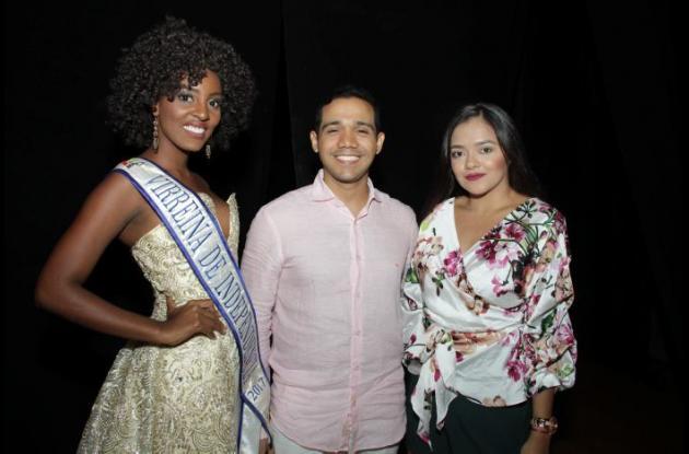 Teresa Asprilla, Germán Tejeda y Judith Mendoza.