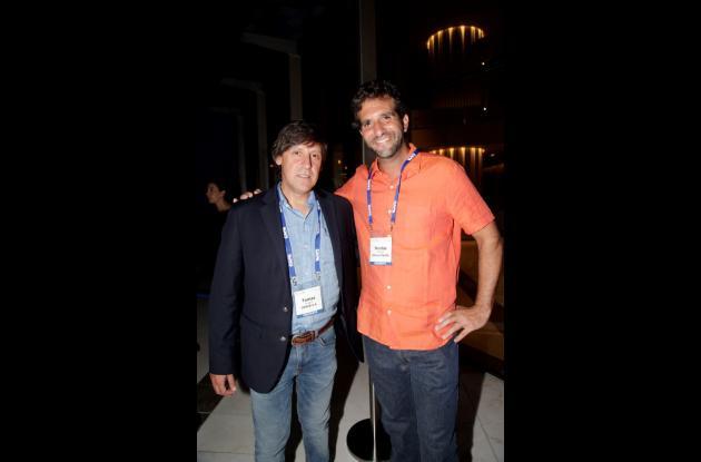 Tomás Aragón y Nicolás Mirman.