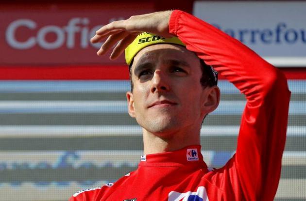 Simon Yates, líder de la clasificación general en la Vuelta a España