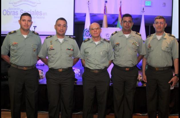 Carlos Sánchez, Misael Ortiz, Mauricio Báez, Boris Albor y Luis Ochoa.