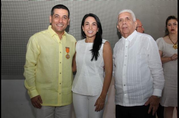 Dumek Turbay, Liliana Majana y Darío Morón.