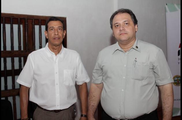 Jorge Sandoval y Luis Carlos Lorduy.