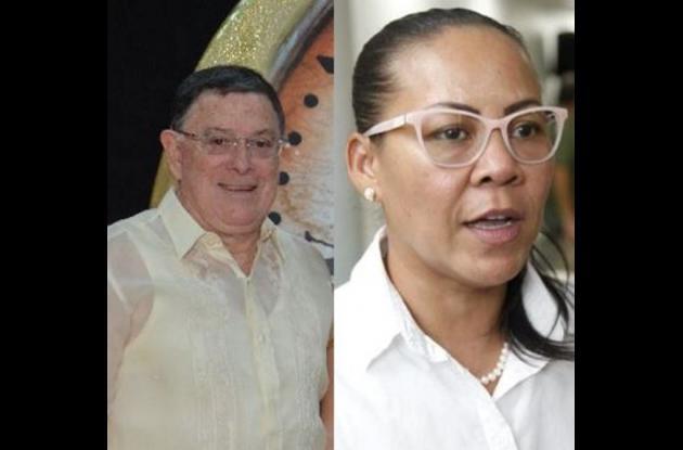 Juan José García y Yolanda Wong.