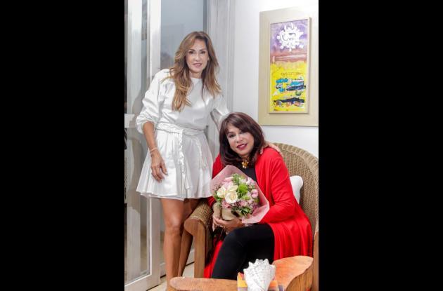 Mary Baladi y Mayra Rodríguez.