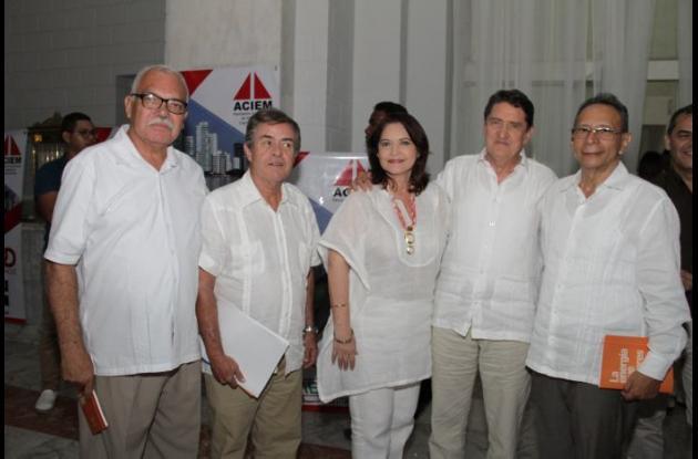 Rafael Bermúdez, Henry Sánchez, Luci Rico, Antonio García y Carlos Pantoja.